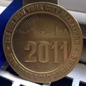 2011 NYCM Medal