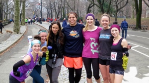 Ashley, Fiona, Erica, Leticia, Abby, Susan, Me.Photo courtesy of Steve - NYC Running Source