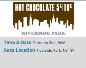 NYC Runs Hot Chocolate 5K - Riverside Park