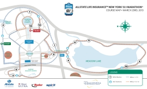 Map courtesy of Allstate 13.1 New York
