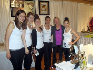 ESD team with Deena Kastor Rachel, Jen, Ashley, Erica, Deena, Me Photo credit: Erica Sara Designs
