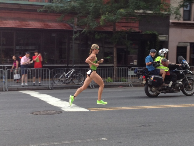 Jenna Parker, lead female at W 72nd St.